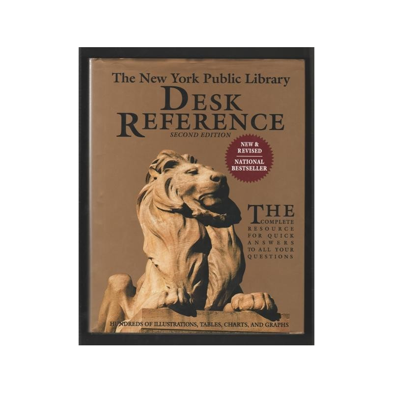 The New York Public Library Desk Reference 2nd ed.