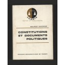 Maurice Duverger CONSTITUTIONS & DOCUMENTS POLITIQUES