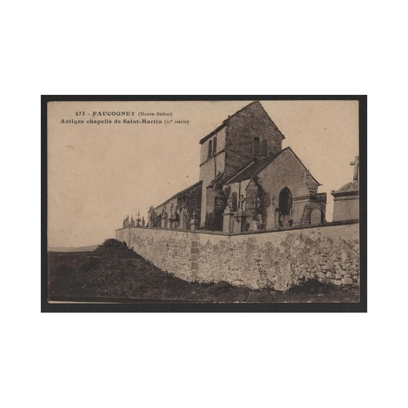 CPA 70 FAUCOGNEY Antique Chapelle de Saint Martin