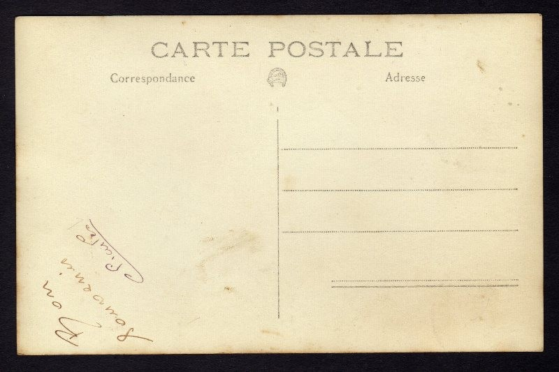 CPA Carte Photo CAMP DE BITCHE 57 Soldats Avril 1935
