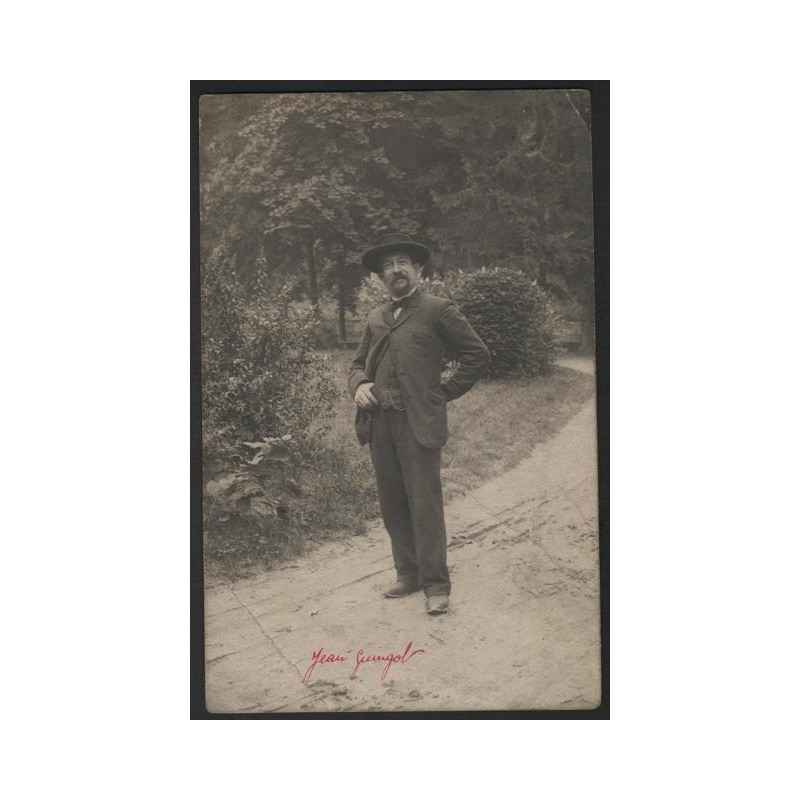 RARE CPA / Carte photo JEAN GUINGOT à REMIREMONT 88