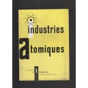 Industries Atomiques N° 1 Octobre 1956 - Sonderbeilage in Deutscher sprache