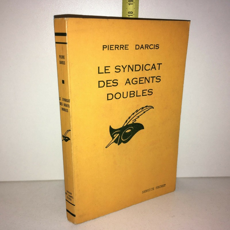 Pierre Darcis LE SYNDICAT DES AGENTS DOUBLES Le Masque 1965 POCHE - ZZ-10321